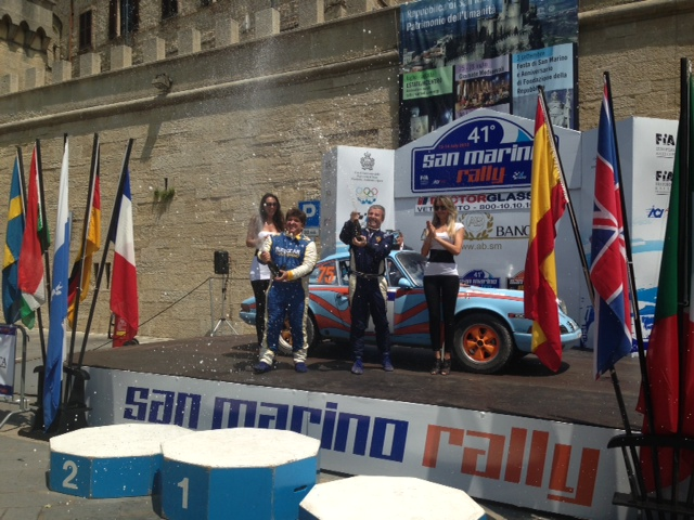 Zampaglione e Livecchi al Rally Costa Brava