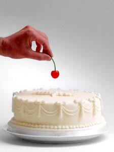 Risultato immagini per ciliegina sulla torta
