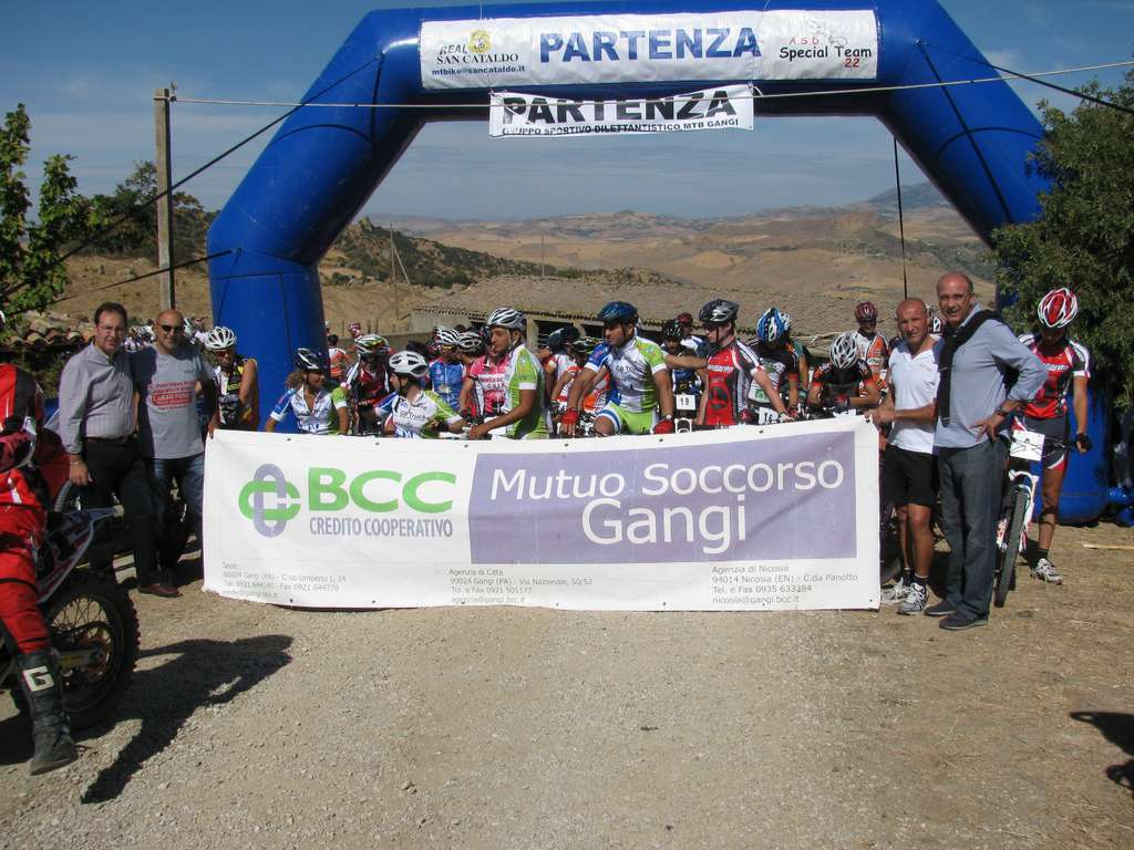 Gangi: campionato coppa Sicilia mountain bike