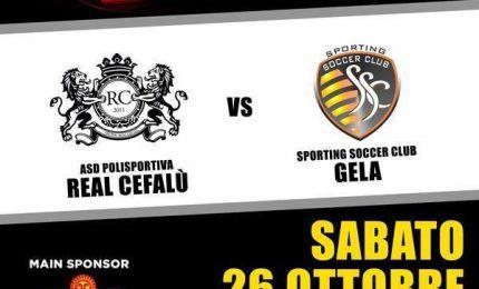 Il Real Cefalù torna in campo contro lo Sporting Soccer Club di Gela