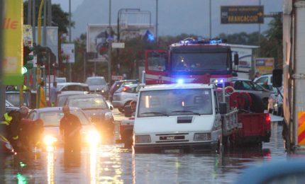 Palermo: nubifragio di domenica peggiore di quelli del 2013 ma con meno disagi