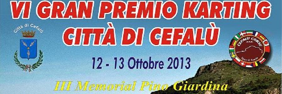 Al via il VI Gran Premio Kart Città di Cefalù