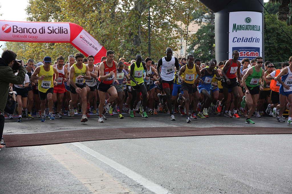 Maratona di Palermo: vince Vito Massimo Catania