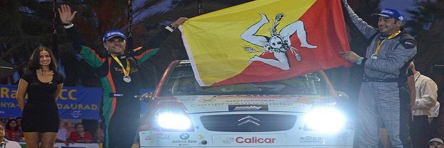 Il duo Calì – Pollicino dopo la prima Tappa al Rallye di Montecarlo