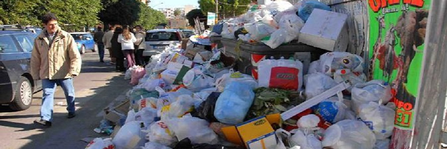 Termini Imerese mette a bando il servizio di gestione dei rifiuti