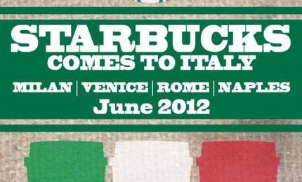 Starbucks arriva in Italia: uno store anche a Palermo