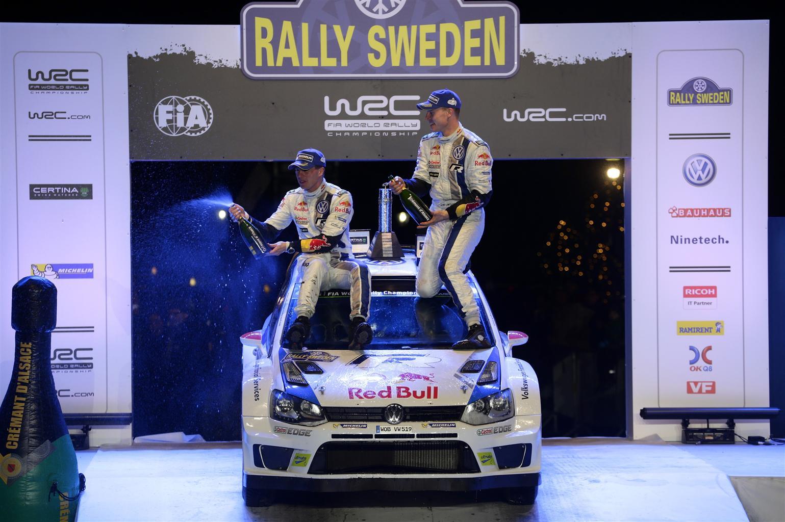 Doppietta Volkswagen al Rally di Svezia