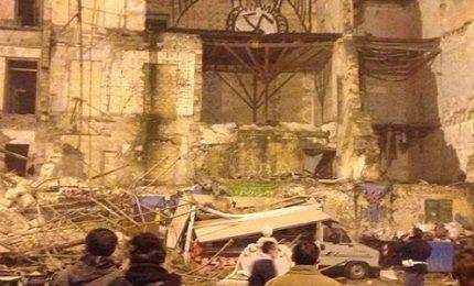 Palermo, crolla una palazzina di tre piani alla Vucciria