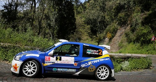 Runfola – Pollicino secondi al 1° Messina Rally Day