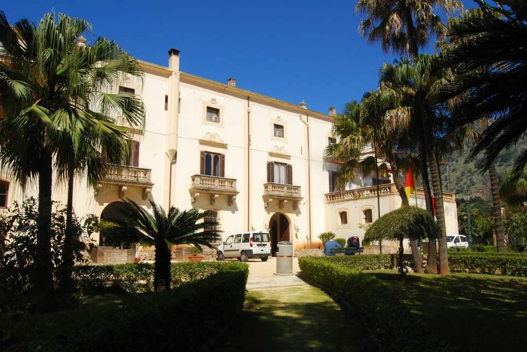 Azzurri d'Italia a Villa Niscemi