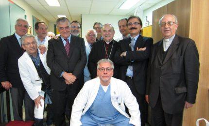 Cefalù, messa con il Vescovo al San Raffaele Giglio