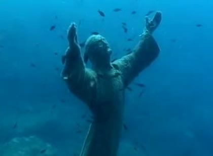Domani cerimonia posizionamento Cristo degli Abissi a Punta Priolo