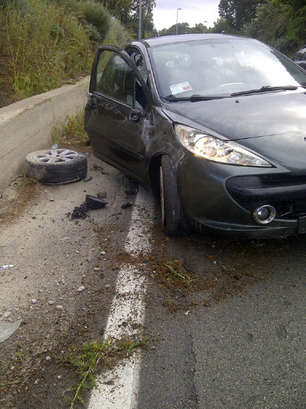 Incidente alla Figurella di Cefalù