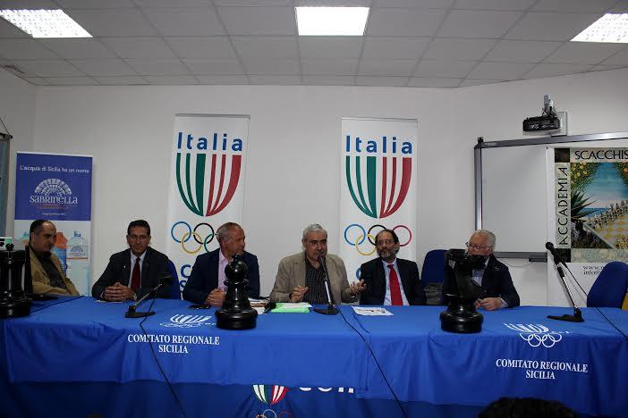 """Palermo, presentata oggi la fase finale dei """"Campionati Studenteschi Giovanili di scacchi 2014"""""""