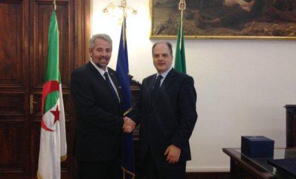 Incontro a Roma tra il Sottosegretario Castiglione e il Ministro algerino Ferroukhi Sid Ahmed