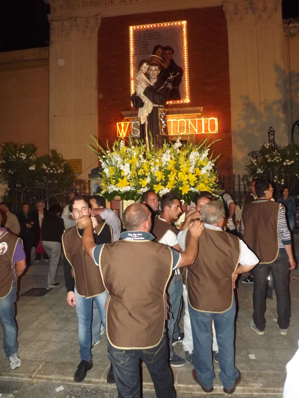 Collesano: festeggiamenti in onore di Sant'Antonio da Padova