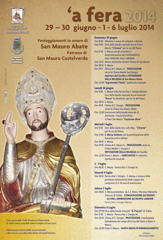 San Mauro Castelverde in festa