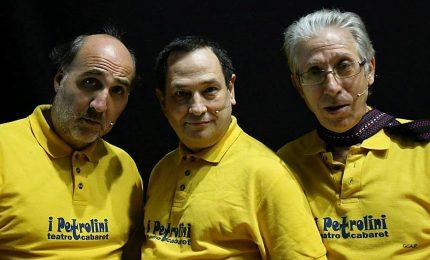 """Collesano: spettacolo di cabaret con i """"Petrolini"""""""