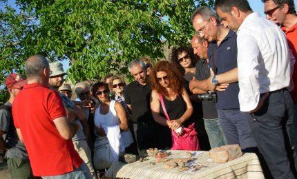 """Petralia Soprana: continuano i lavori negli scavi di """"Santa Marina"""""""