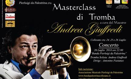 Masterclass di Tromba a Collesano