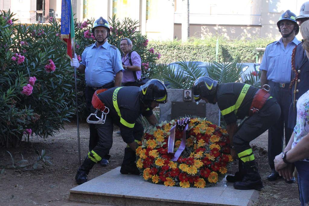 Palermo. Commemorato il Vigile del Fuoco Niccolò Billitteri