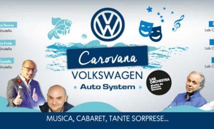 """A Cefalù farà tappa la """"Carovana Volkswagen Auto System"""""""