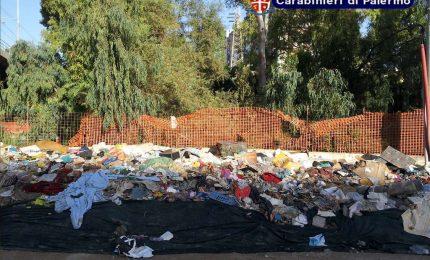 Baraccopoli da 300 mq a Palermo, denunciati 29 cittadini Rumeni
