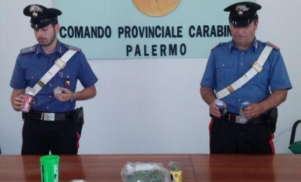 Arrestati due coniugi palermitani per detenzione ai fini di spaccio di sostanza stupefacente