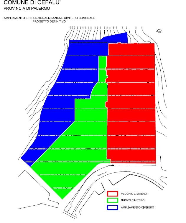 Cefalù. Approvato il progetto di ampliamento del cimitero comunale