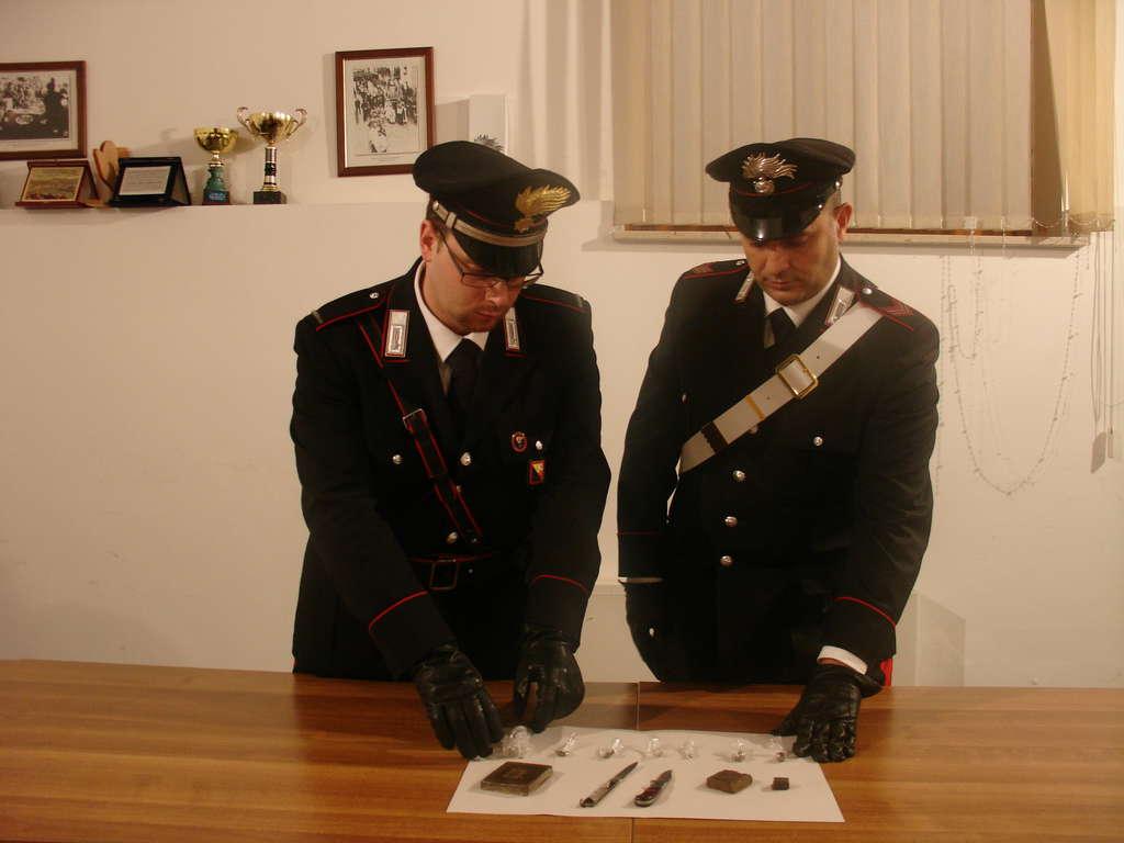 Cefalù: Sorpreso a spacciare, arrestato dai carabinieri