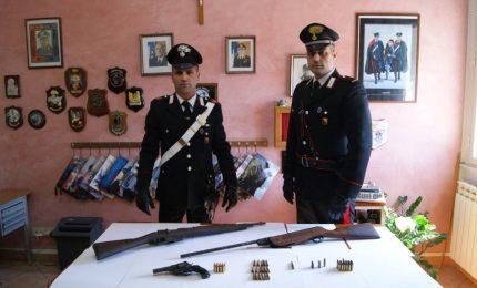 Valledolmo. Arrestato pastore per possesso illegale di armi
