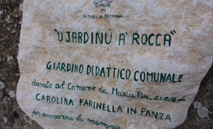 "A Petralia Sottana nasce ""U Jardinu da rocca"""