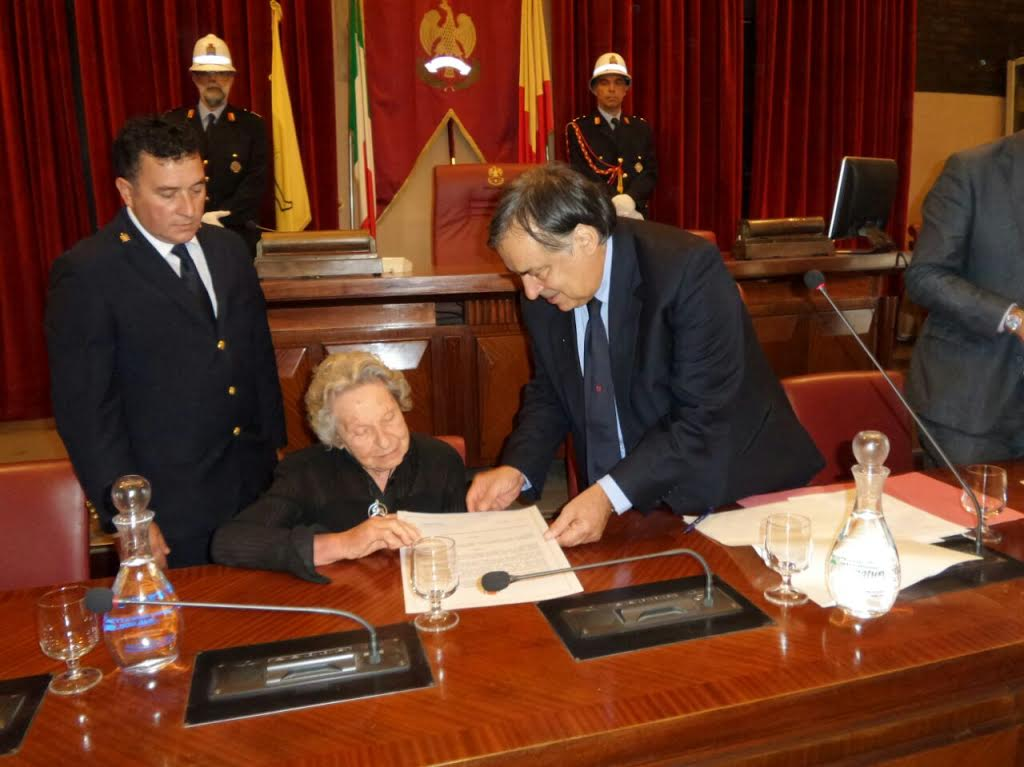 Palermo. Conferita a Elisabetta Baldi la cittadinanza onoraria