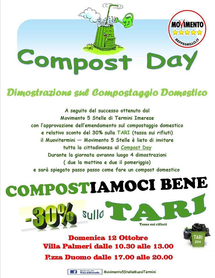 Termini Imerese impara a fare il compostaggio. 12 ottobre appuntamento al Compost Day
