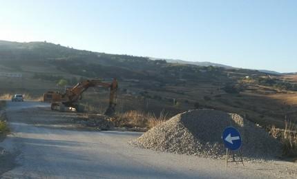 Gangi - San Mauro - Finale, presto la strada provinciale di nuovo percorribile