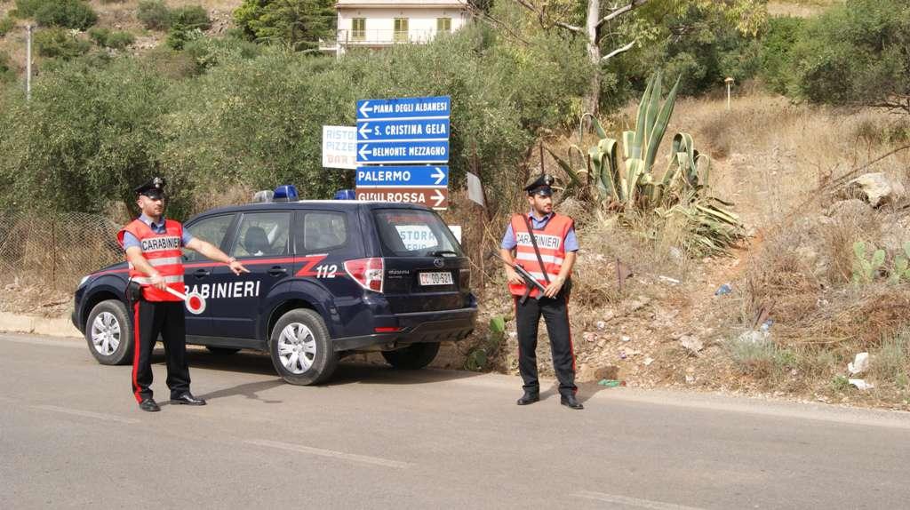 Belmonte Mezzagno, rapina in abitazione, indagini in corso