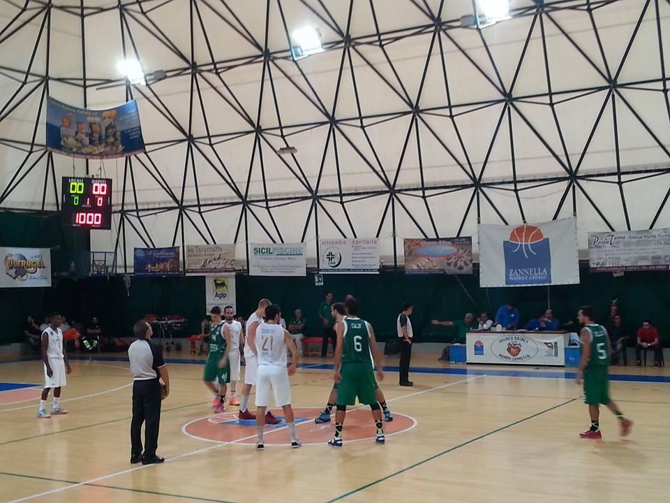 La Zannella Basket batte il green Palermo 75-71