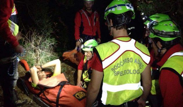 Monte Pellegrino, giovane ferito durante una scalata