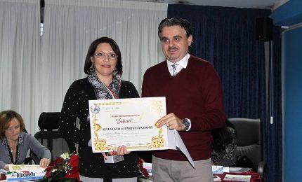 La poetessa termitana Rosaria Lo Bono premiata a Sellia