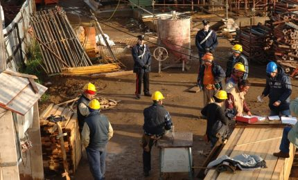 Lotta al lavoro nero, 2 imprese edili e 3 imprese commerciali sospese a Palermo, Caltavuturo, Partinico e Alia