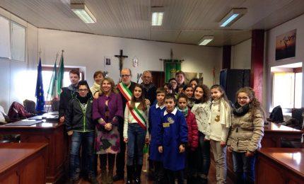 San Mauro Castelverde, insediamento del nuovo mini sindaco