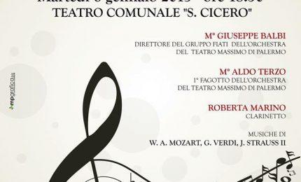 Al teatro Cicero il concerto dell' Epifania