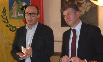 Faraone, sottosegretario del governo Renzi, in visita ufficiale a Termini Imerese