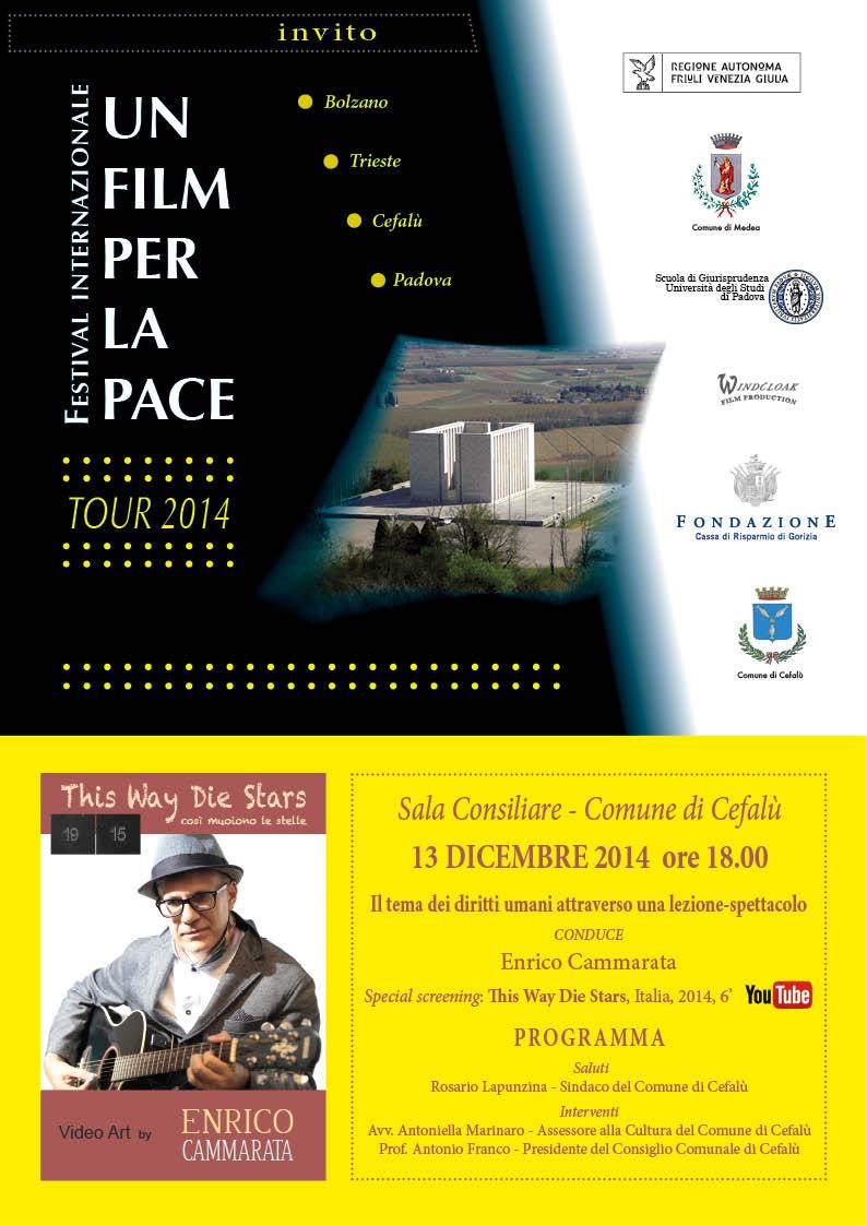 Enrico Cammarata: Un film per la Pace