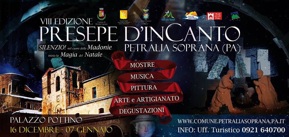 """Petralia Soprana. Apre i battenti """"Presepio d'Incanto"""""""
