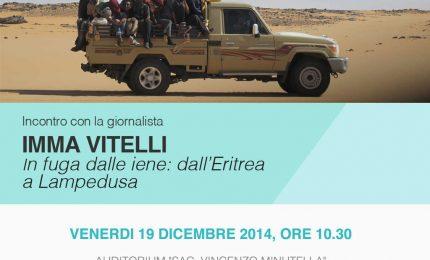 """""""In fuga dalle iene: dall'Eritrea a Lampedusa"""", incontro con Imma Vitelli al Museo Civico di Castelbuono"""