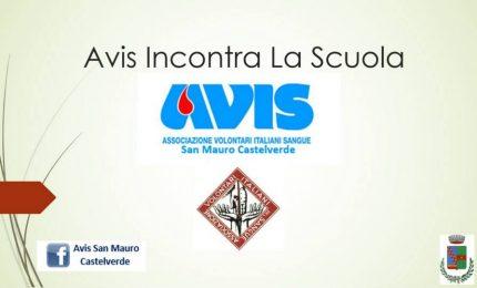 San Mauro Castelverde, l'AVIS incontra la scuola