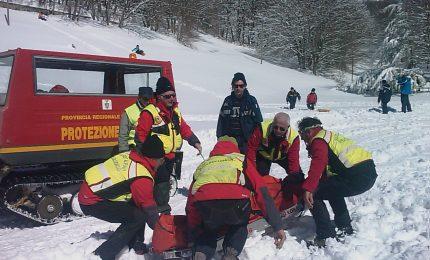 Stop al servizio di soccorso alpino a Piano Battaglia
