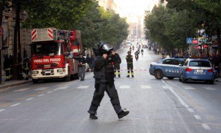 Allarme bomba nella notte a Palermo