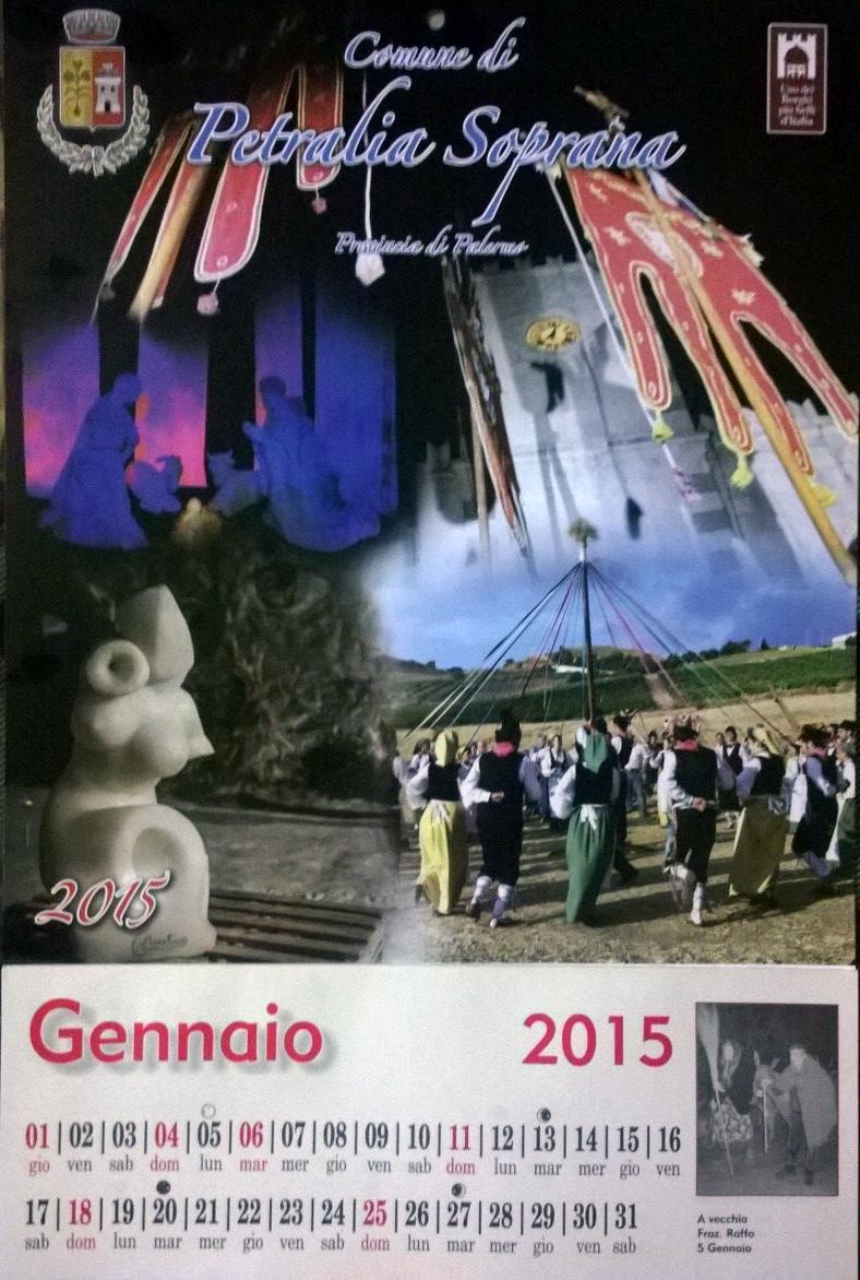 Petralia Soprana, un calendario per tutti gli eventi dell'anno